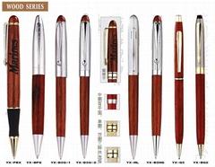 木制笔/木盒/木制工艺品/木头钢笔/木头圆珠笔/木拆信刀