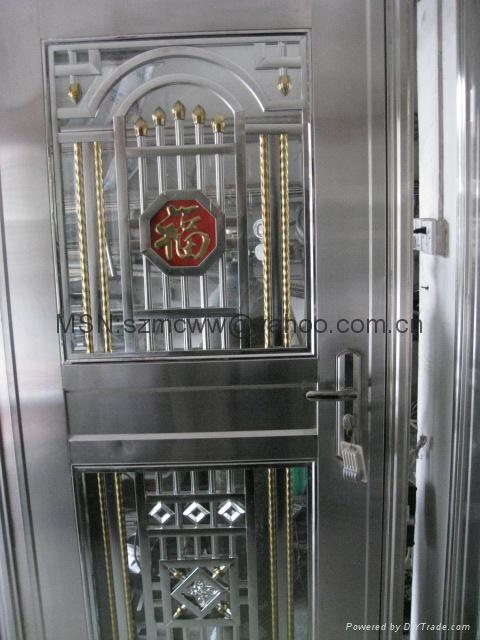 Stainless Steel Burglar Proof Door China Manufacturer