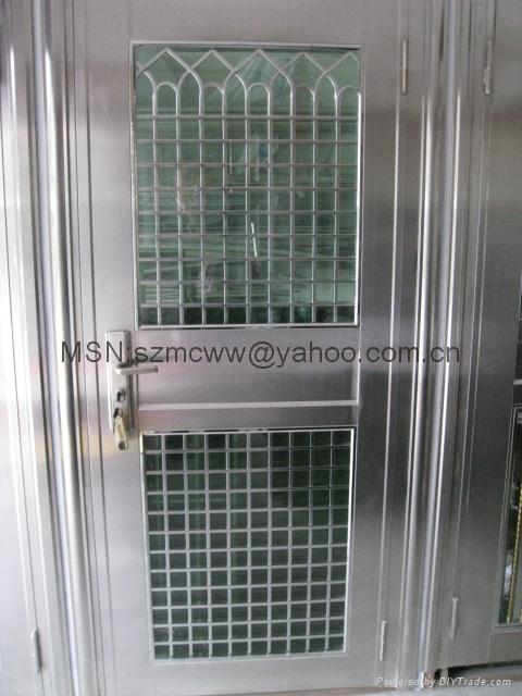 Product Image & Stainless steel burglar-proof door (China Manufacturer) - Products Pezcame.Com
