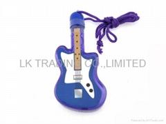 Bubble in guitar shape