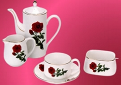 bone china  tea set & coffee set