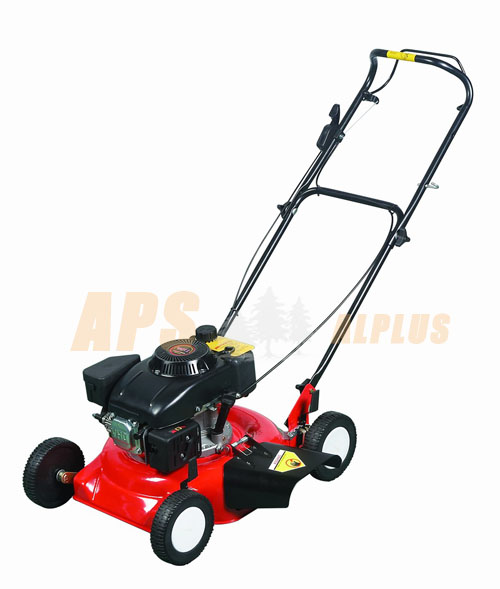 gasoline lawn mower,135cc/3.75HP,side lawnbag,hand-push,460mm cutting width 1