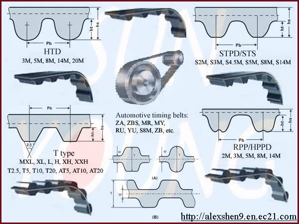 Timing (Synchronous) Belts 1