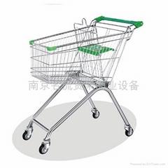 南京超市購物手推車