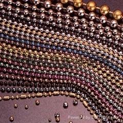 珠链 挂链 彩色波子链 钥匙扣