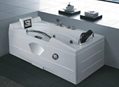 Massage bathtub  T-1142C  (With 8 inch TV)