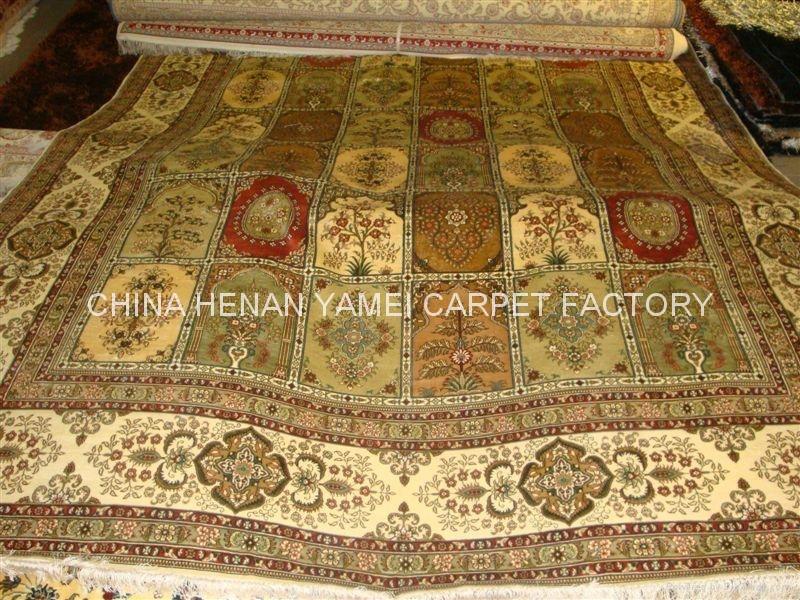手工编织 真丝地毯-asian rug