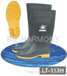 PVC Ordinary Working Boots 4