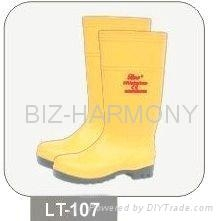 PVC Safety Boots