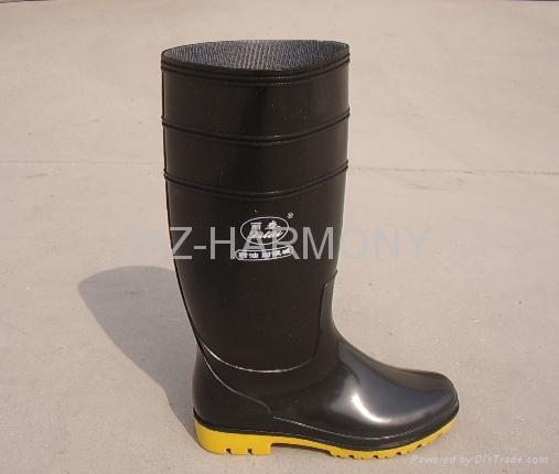PVC Ordinary Working Boots 1