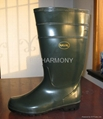 PVC Ordinary Working Boots (Green)