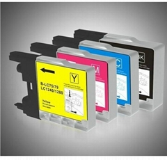 compatible brother lc1240 lc1280 lc79 lc75 inkjet cartridge