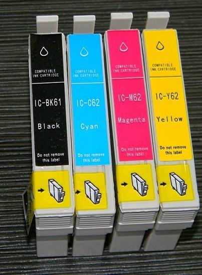 ICBK61 ICBK62-ICY62 日本兼容墨盒 1