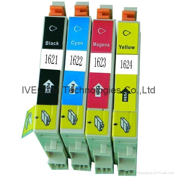 Epson T1621/T1622/T1623/T1624 t1631 兼容墨盒 1