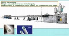 Glassfiber Reinforced Plastic PP-R (FRPPR) multilayer Pipe production line