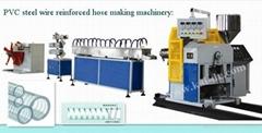 PVC Steel Wire Reinfored Hose making machine