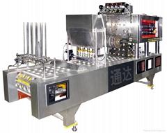 气动式自动灌装封口机