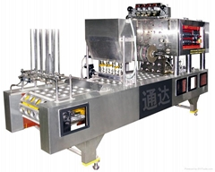 QCF SERIES PNEUMATIC CUP-FILLING & SEALING MACHINE