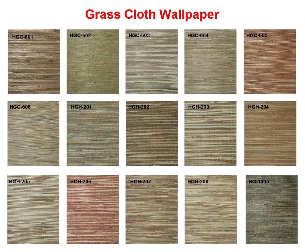 Natural Plant Fiber Handwoven Wallpaper Hsf401 411
