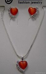 ladies' neckalce set