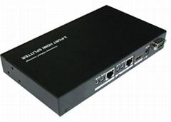 HDBaseT splitter 1X2 support 3D Bi-Directional IR 70M