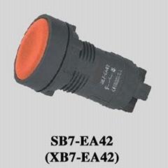Pushbutton Switch (XB7-EA42)