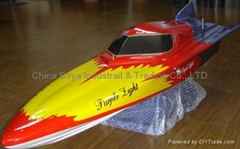 RC-Gas Engine Power Boat