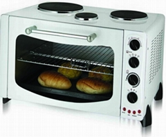 toaster oven, electric oven