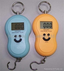Digital Hanging Fishing Luggage Hook Pocket Scale