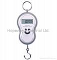 Digital Hanging Fishing Luggage Hook Pocket Scale 3