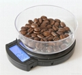 Switchable capacity digital pocket scale