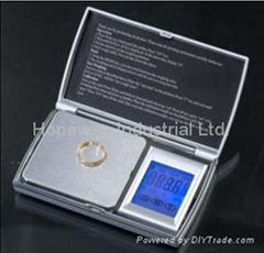 Touch screen Jewellery scale