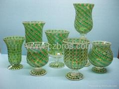 Mosaic Glassware