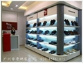 鞋业展柜、化妆品展柜、珠宝展柜