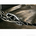 Cloth Insertion Rubber Sheet, Metal Mesh