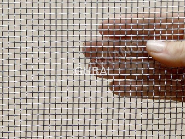 Cloth insertion rubber sheet metal mesh