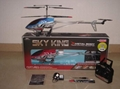Big alloy 3.5CH RC helicopter with gyro