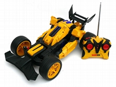 RC  Deforming car