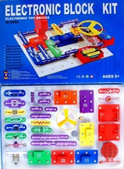 Electronic Educational Block Kit