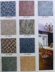河北石家莊地毯紋石塑地板