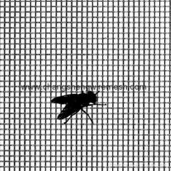 Fly Screen Material Charcoal/White/Grey