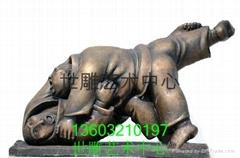 抽象人物雕塑