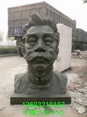 名人像雕塑