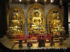 西方三聖佛雕塑
