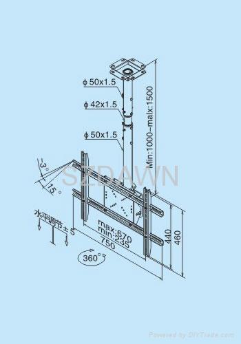 液晶电视吊架 3