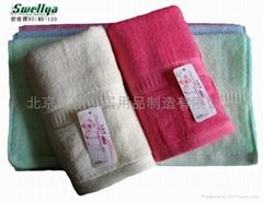 北京毛巾厂特价供应SWELLYA木纤维毛巾方巾澡巾沐浴巾