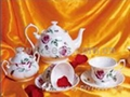 Sell 11 pcs of Yuxiang coffee set(under