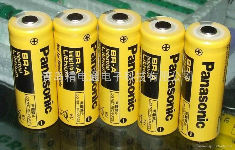 松下锂电池 br-a 锂电池 3v图片