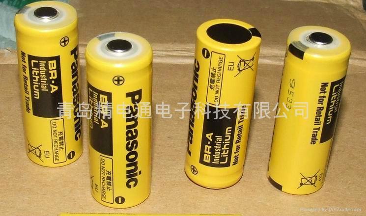 松下锂电池 br-a 锂电池图片