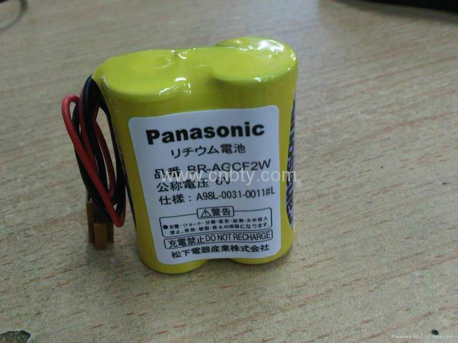 松下锂电池br-agcf2w 6v 1800mah 发那图片